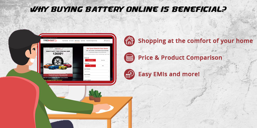 Why Buying Car Battery Online Is Beneficial?