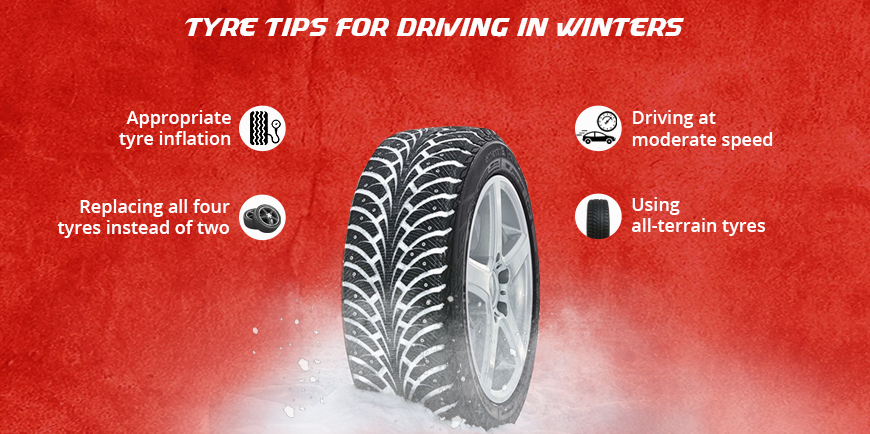 Tyre Tips For Driving In Winters
